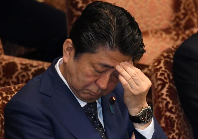Shinzo Abe, le premier ministre japonais, à Tokyo, le 14 mars 2018.