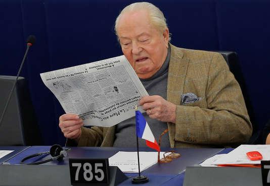 Jean-Marie Le Pen, le 14 mars 2018.