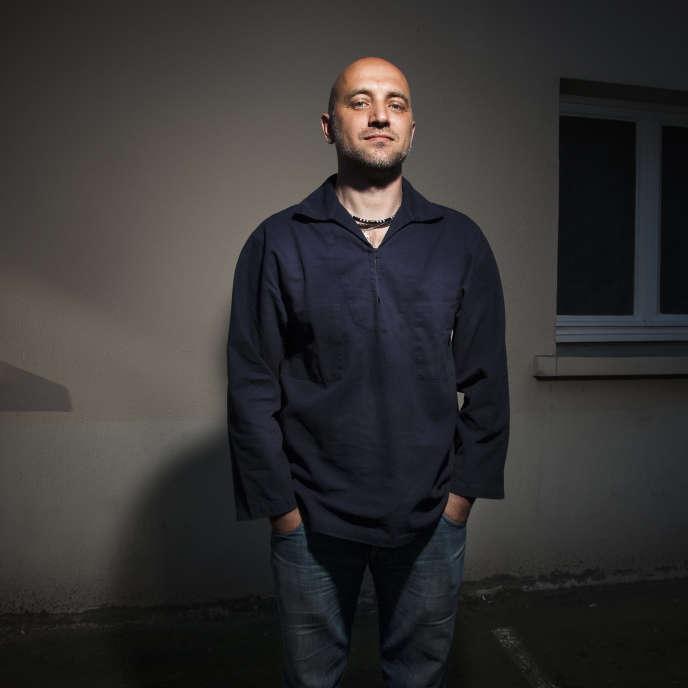 L'écrivain russe Zakhar Prilepine, en 2010.
