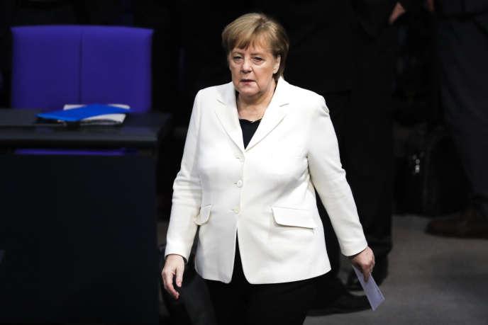 En Allemagne, Angela Merkel a été élue chancelière pour un quatrième mandat, le 14 mars 2018.