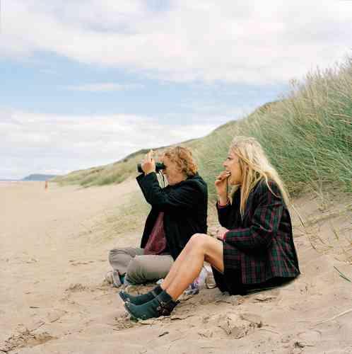 Vacances avec Jackie à Portrush, en Irlande du Nord (2013).