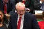Jeremy Corbyn, le dirigeant du Parti travailliste, à la Chambre des communes, le14mars, à Londres.