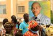 Manifestation à Dakar pour la libération de prisonniers politiques, dont Karim Wade, en 2013.