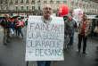 Manifestation des retraités contre la baisse des pensions et l'augmentation de la CSG, à Paris, le 28 septembre 2017.
