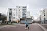 Le quartier du plateau Rouher, à Creil (Oise), le 5 mars. Ici, Oise Habitat, principal bailleur social de la ville, a engagé un programme de réhabilitation de ses logements.