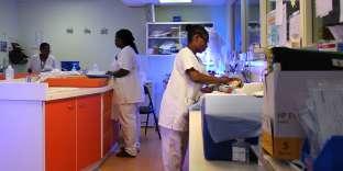 A la maternité de l'hôpital de Mamdoudzou, le 14 mars.