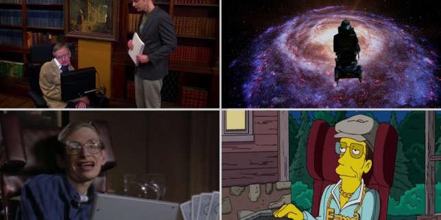 Quand Stephen Hawking faisait de l'humour geek à la télévision et dans les séries