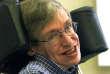 Stephen Hawking, lors d'une conférence à l'université de Potsdam en Allemange, le 21 juillet 1999.
