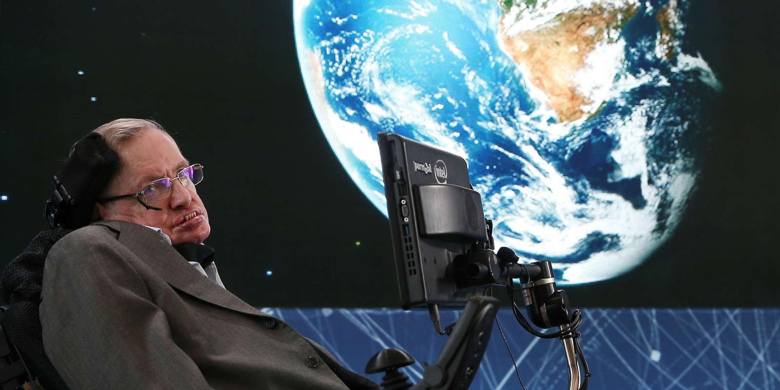 Stephen Hawking, en avril 2016.