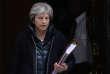Theresa May, la première ministre britannique au 10 Downing Street, à Londres le 14 mars 2018.