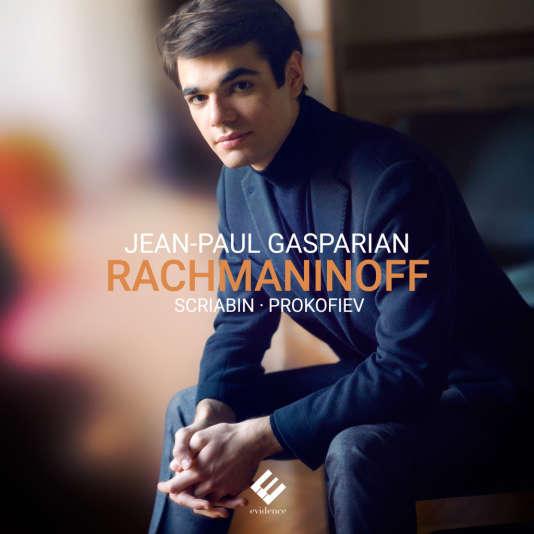 Pochette de l'album du pianiste Jean-Paul Gasparian consacré àRachmaninov, Scriabine et Prokofiev.