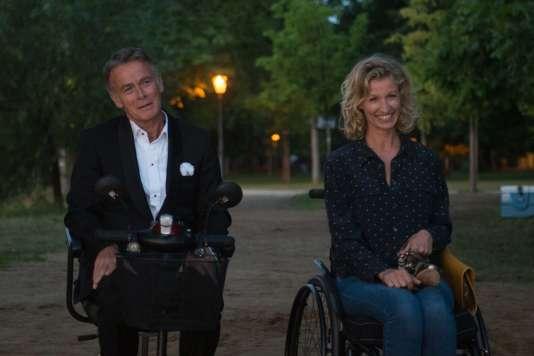 Franck Dubosc et Alexandra Lamy.