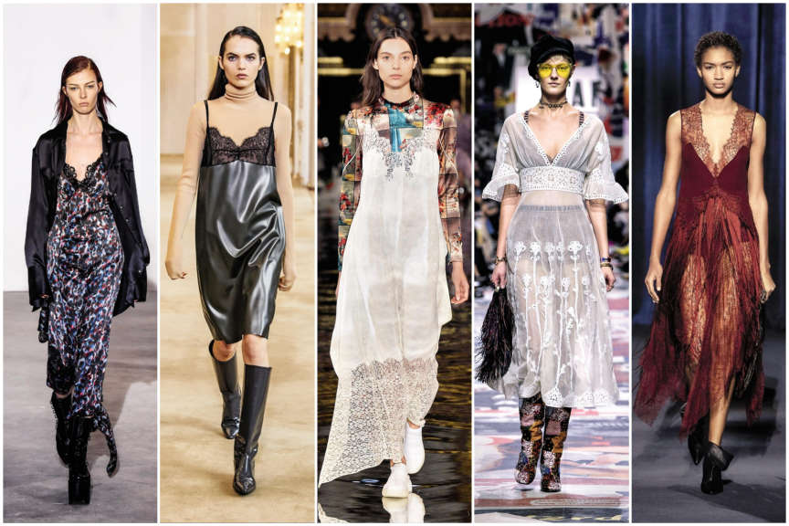 Olivier Theyskens, Nina Ricci, Stella McCartney, Dior et Givenchy.