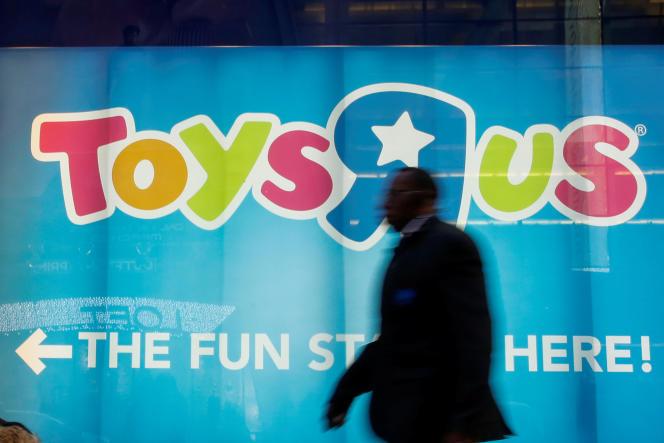 Le magasin Toys'R'Us à Times Square, à New York, le 9 mars 2018.