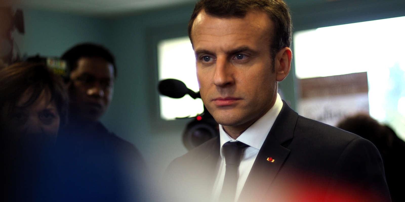 Emmanuel Macron, le 15 mars 2018.