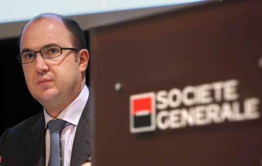 Didier Valet, l'un des trois directeurs généraux délégués de la Société générale (ici en 2009), quittera le groupe vendredi 16 mars.