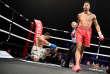 Tony Yoka lors de son combat face à Ali Baghouz àBoulogne-Billancourt en décembre 2017.