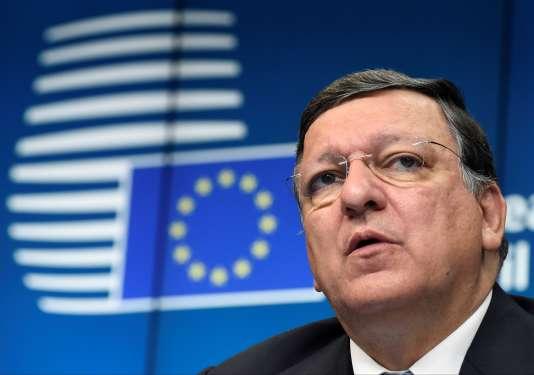 José Manuel Barroso à Bruxelles, en août 2014.