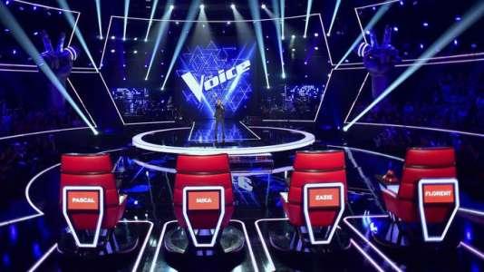 Nikos Aliagas dans«The Voice, Saison 7».