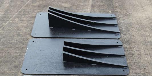 Le double aileron d'évitement, appelé AFP pour Additional Frontal Protection (protection frontale additionnelle). Extrait de «Lignes de défense», 1er mars 2016.