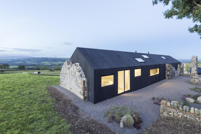 Une maison individuelle à Dumfries en Ecosse réalisée par Nathanael Dorent Architecture.