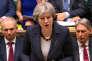 La première ministre britannique Theresa May, à la Chambre des communes, à Londres, le 14 mars.