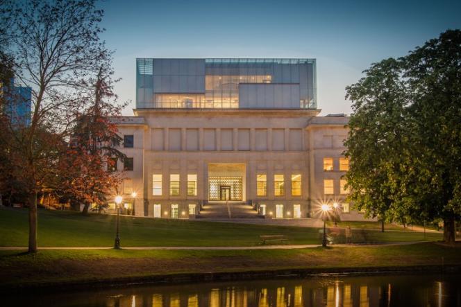 Le Musée de l'Histoire européenne à Bruxelles réalisé par l'agence Chaix Morel Associés.