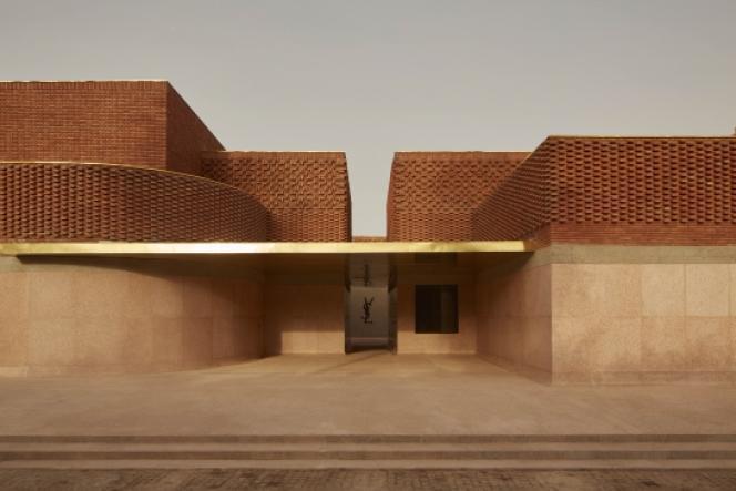 Le musée Yves Saint Laurent à Marrakech au Maroc réalisé par le Studio KO.