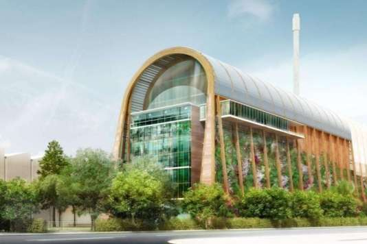 Une usine de traitement et de recyclage réalisée à Leeds en Angleterre par S'PACE Architecte.