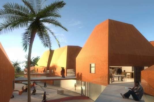 La faculté d'architecture de Kigali au Rwanda réalisée par Patrick Schweitzer & Associés.
