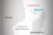 Situation géographique de Mayotte.