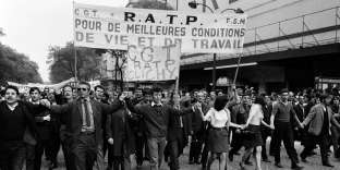 Manifestation le 24 mai 1968 à Paris.