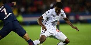 Nice et Marlon, ici le 27 octobre 2017, peuvent encore viser une place en Ligue Europa la saison prochaine.
