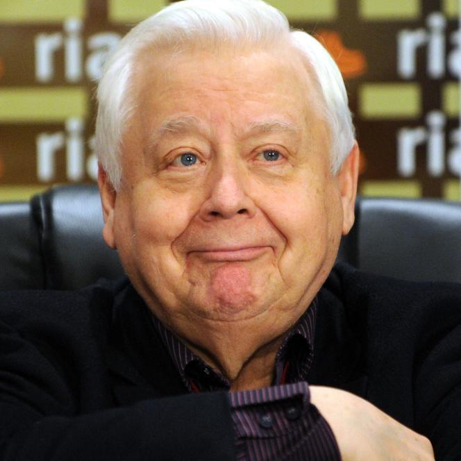 Oleg Tabakov, en septembre 2010, à Moscou.