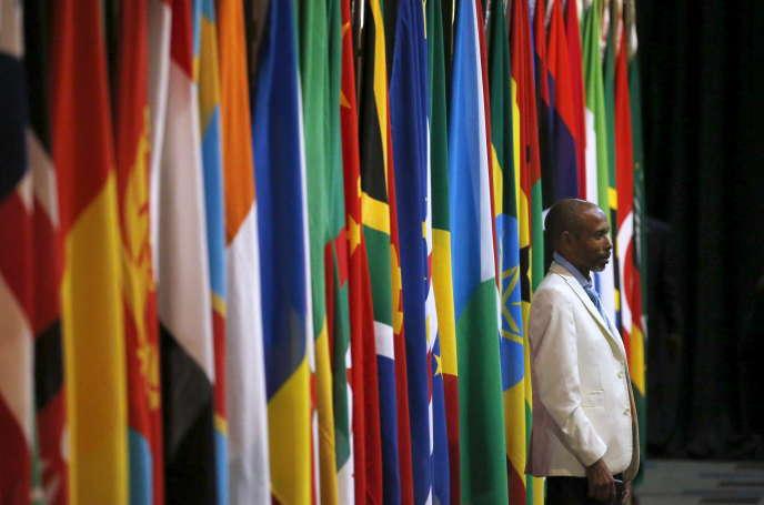 Durant le sommet Chine-Afrique de décembre 2005 à Johannesburg, en Afrique du Sud.