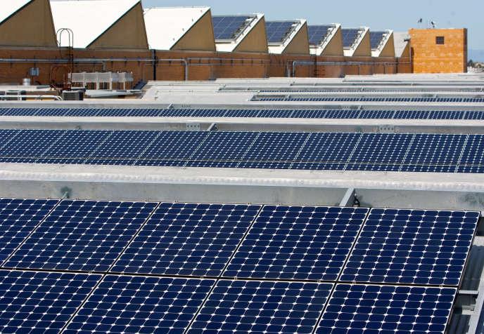 Des panneaux solaires à Richmond en Californie.
