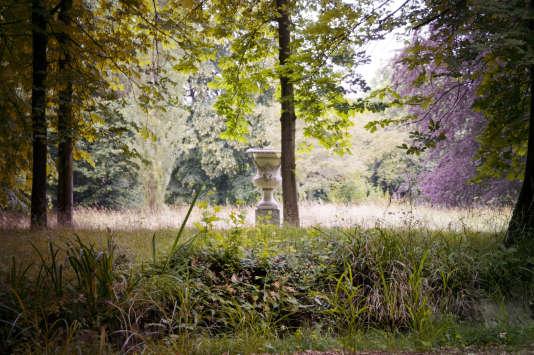 Les paysages du Jardin Joséphine, à Malmaison, ont été traités comme des tableaux grandeur nature.