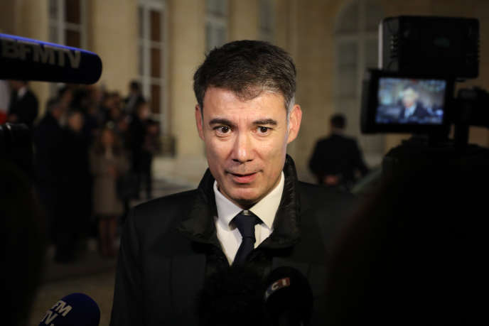 Olivier Faure, le 30 janvier à Paris.