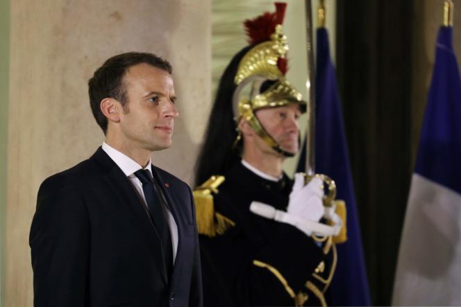 Emmanuel Macron le 16mars.