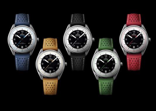 Omega Seamaster Olympic Colors.