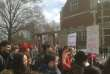 Rassemblement à Princeton (New Jersey), le 14 mars.