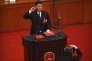 Le président chinois, Xi Jinping, le 17 mars, à Pékin.