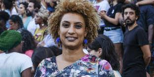Marielle Franco s'était fortement engagée contre le racisme et la violence policière.