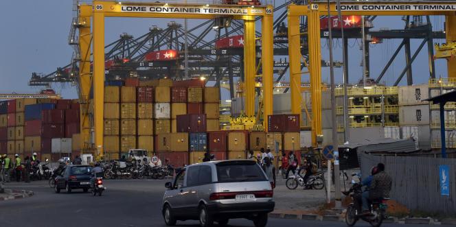Le terminal à conteneurs du port de Lomé, au Togo.