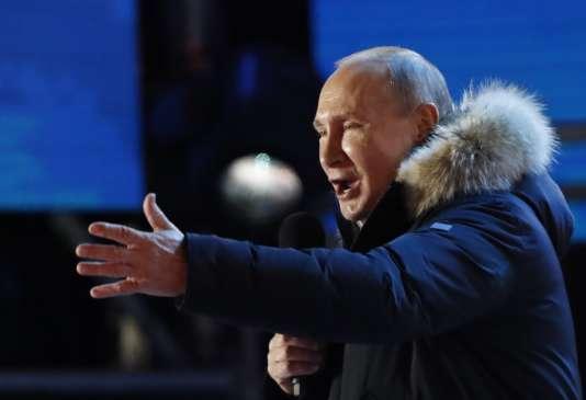 Poutine conforte son pouvoir et rempile pour un 4ème mandat
