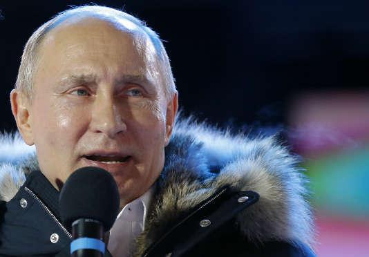 Le président réélu de la Fédération de Russie, Vladimir Poutine.