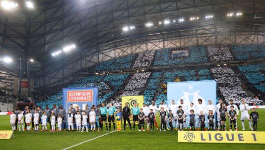 Le Stade-Vélodrome lors de la réception de Lyon, le 18 mars 2018.