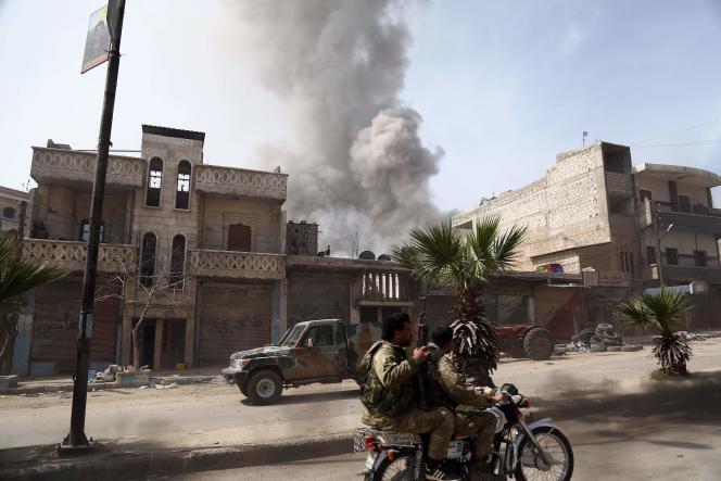 Les forces d'Ankara et les rebelles syriens ont pris, dimanche 18 mars, le contrôle de la ville d'Afrin.