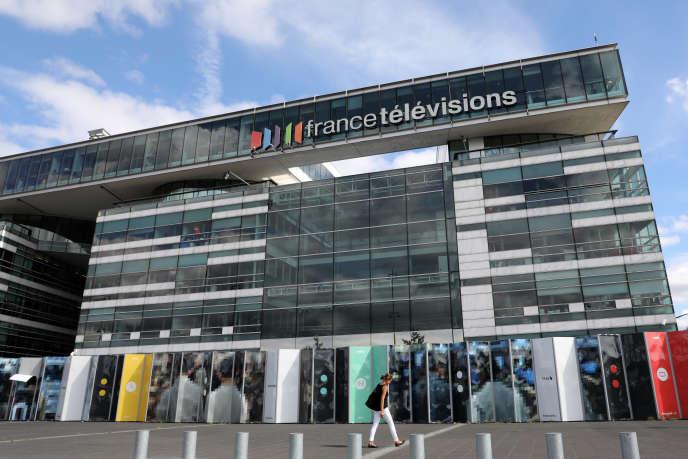 Le siège de France Télévisions, à Paris, en septembre 2017.