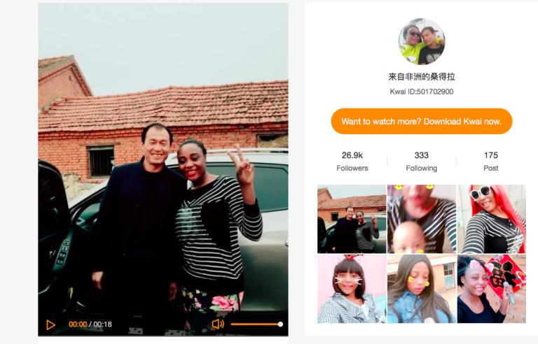 Installés dans le nord-est de la Chine, Sandra Made Tchinda Falone, Camerounaise,et son mari Zou Qian Shun racontent chaque jour leur vie de couple mixte en direct sur Internet.